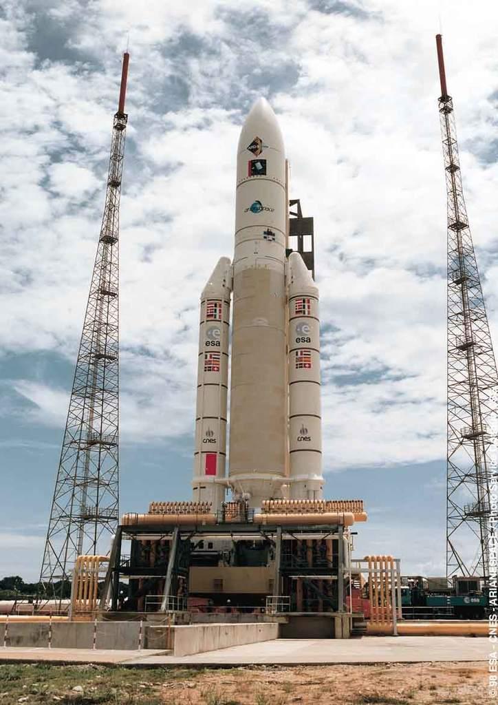 Ariane 5 przedstartem
