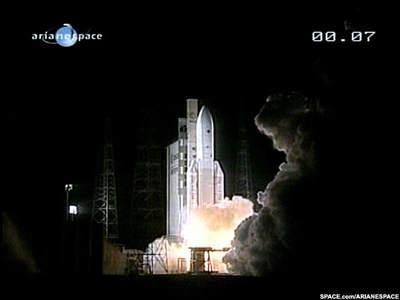 Ariane 5 pomyślnie startuje