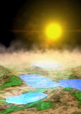 Powierzchnia planety spoza Układu Słonecznego
