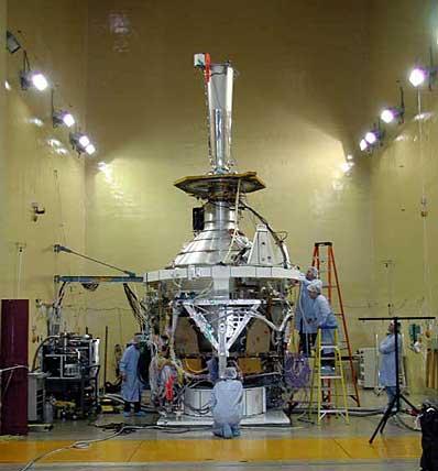Satelita GP-B przed testami