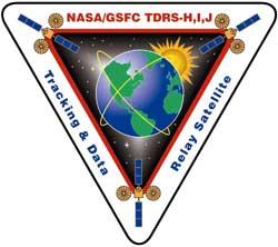 Logo satelitów TDRS nowej generacji