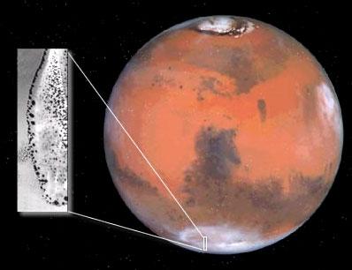 Plamy na Marsie
