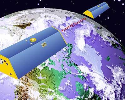 Satelity systemu GRACE