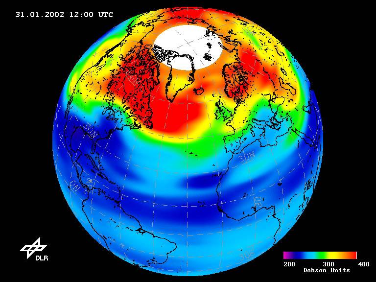 Niedobór ozonu nad Europą