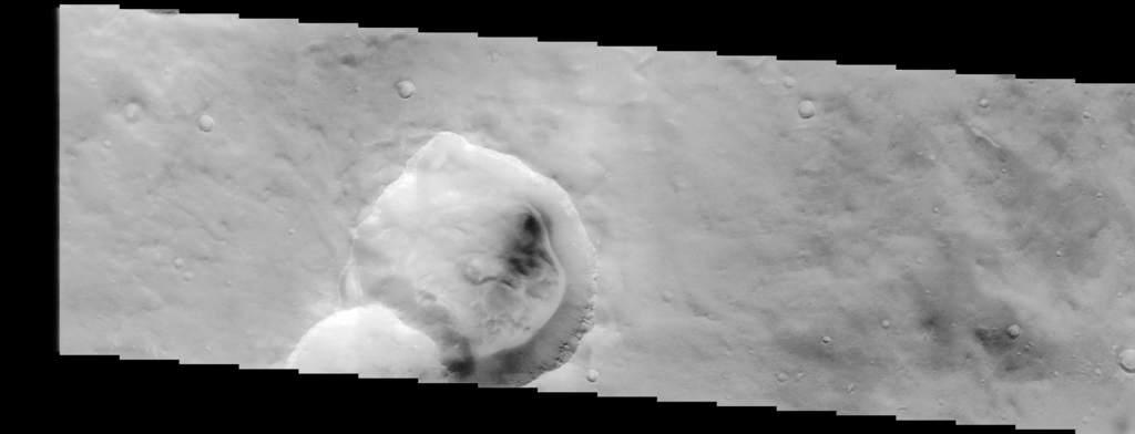 Kratery naMarsie