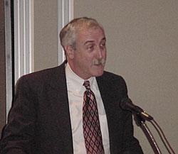 Sean O'Keefe przemawia