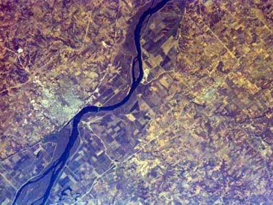 Zdjęcie rzeki Mississippi