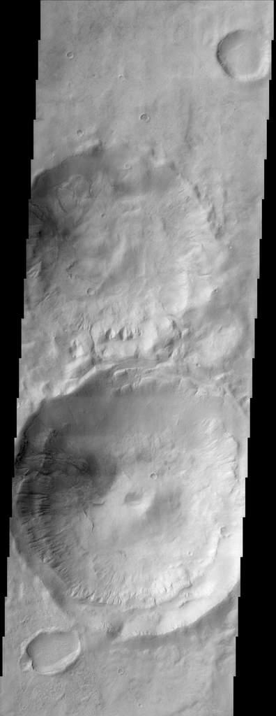 Marsjańskie kratery
