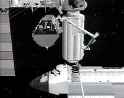 S0 zamontowany do ISS