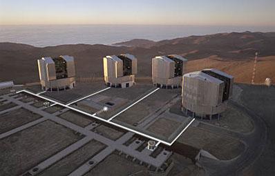 Teleskop VLT