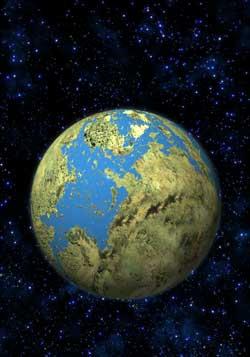 """""""Ziemiopodobna"""" planeta"""