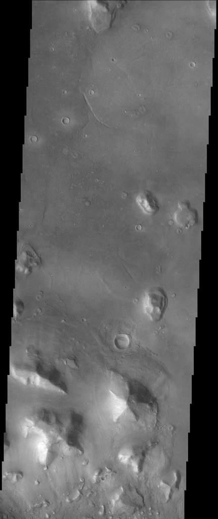 Twarz na Marsie oczami sondy Mars Odyssey