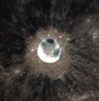 Mare Tranquillitatis i krater Dioniza