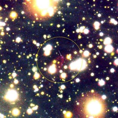 Okolice gwiazdy kwarkowej RX J1856