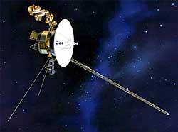 Sonda Voyager u granic Układu Słonecznego