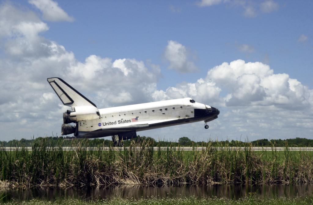 Atlantis kończy misję STS-110
