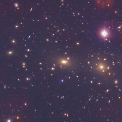 Gromada galaktyk w Warkoczu Bereniki