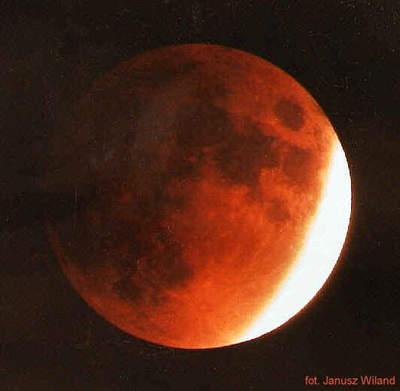 Zaćmienie Księżyca 9 lutego 1990