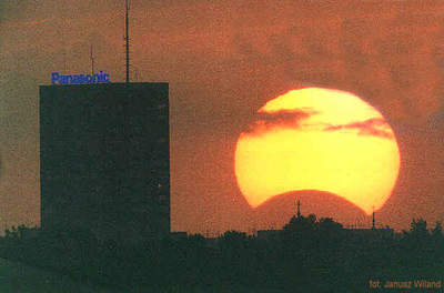 Zaćmienie Słońca iPanasonic 10 maja 1994