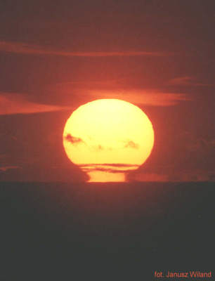 Zachód Słońca wlipcu 1996