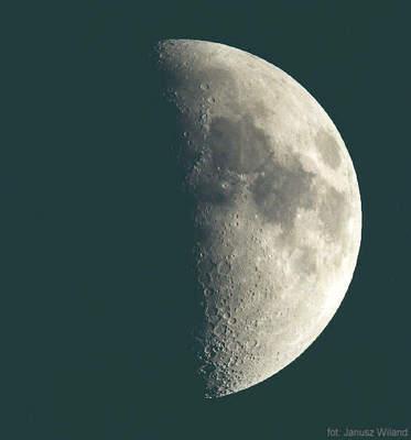 Księżyc przezTN 250/1400
