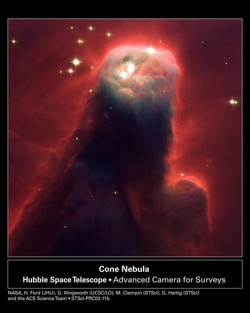 NGC 2263, Mgławica Stożek