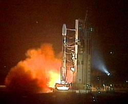 Start rakiety Ariane 4 z satelitą Spot-5