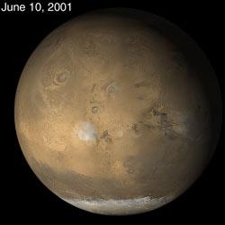 Mars przed burzą