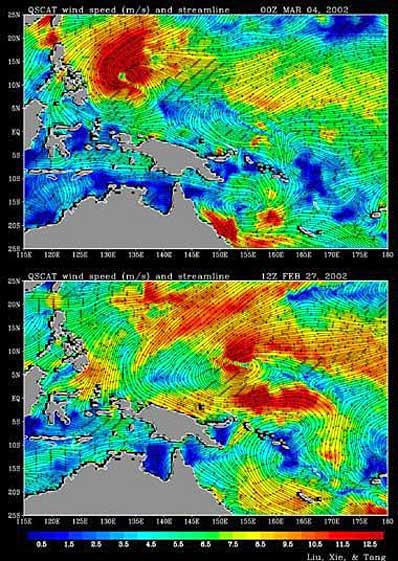Wiatry nad Pacyfikiem