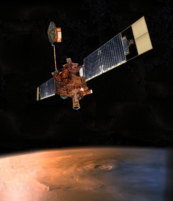 MGS nad Olympus Mons