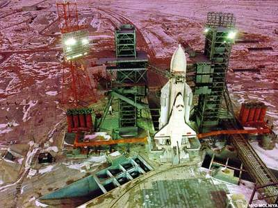 Rosyjski prom kosmiczny Buran