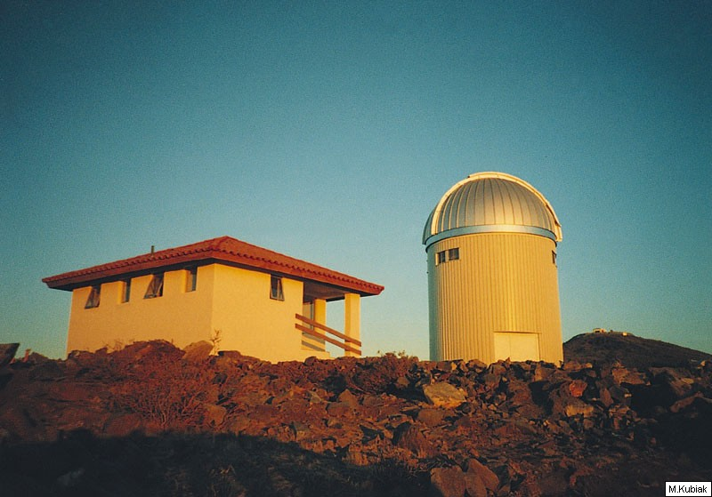 Polski teleskop w Las Campanas w Chile