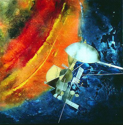 "Obraz ""Cassini Tracking Saturn I"""