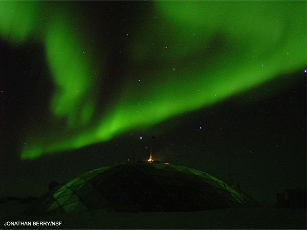 Południowa zorza polarna