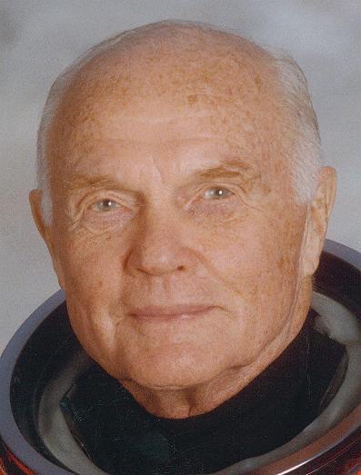 John Glenn - pierwszy Amerykanin na orbicie