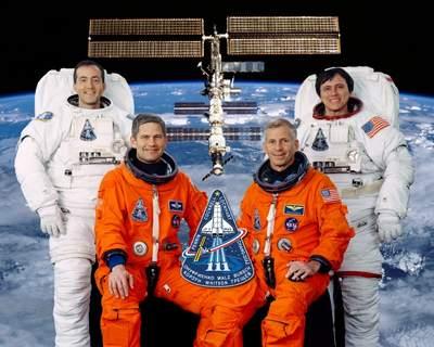 Załoga misji STS-111 (bez Załogi Piątej ISS)