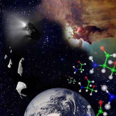 Aminokwasy we Wszechświecie