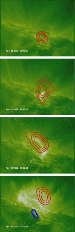 Rozbłysk słoneczny z 21 kwietnia 2002 roku