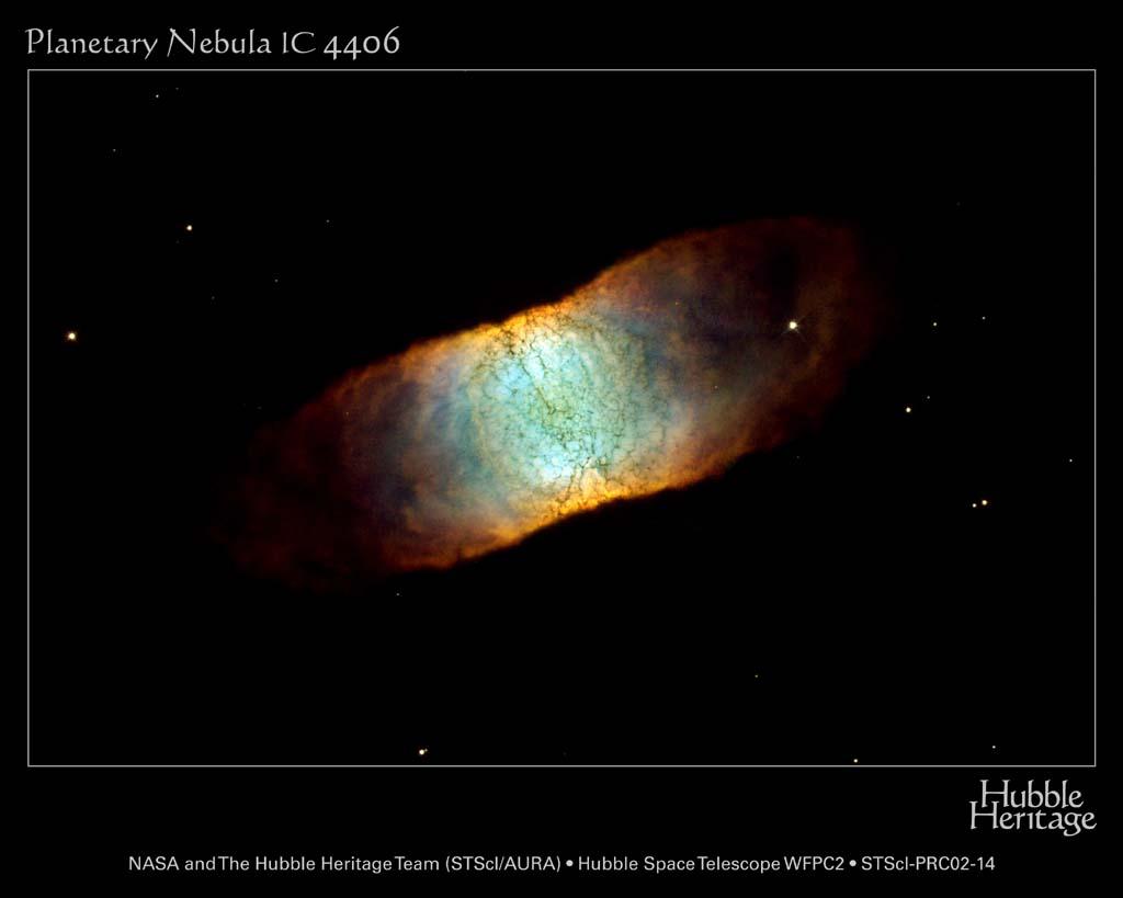 IC 4406 - umierająca gwiazda