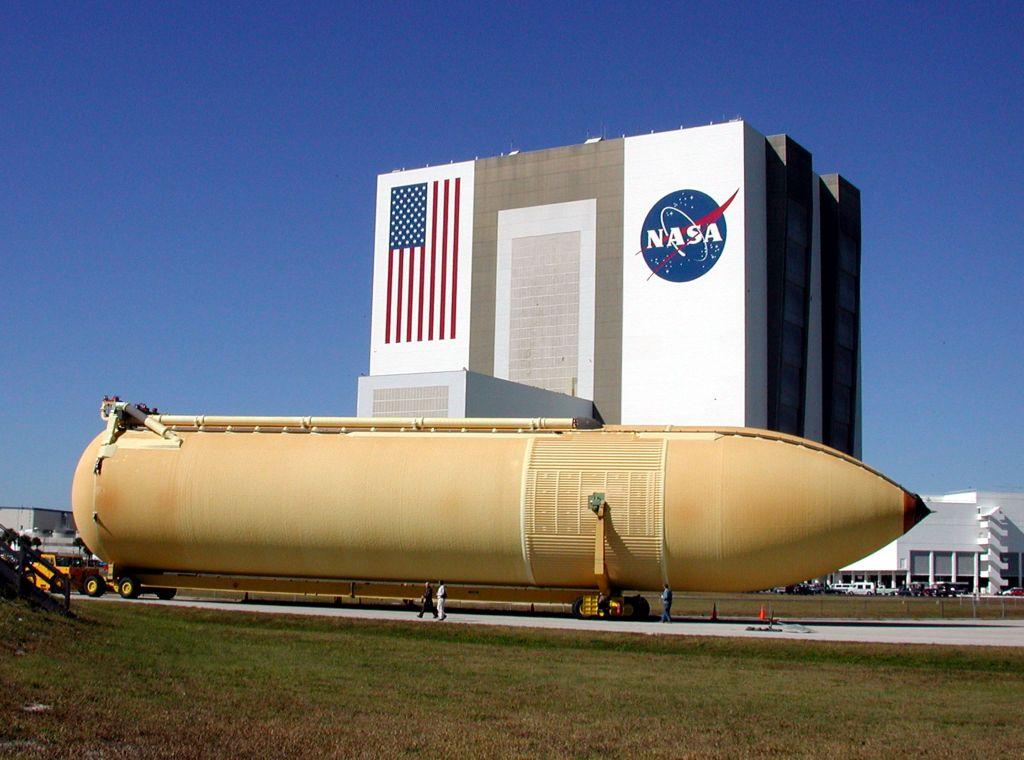 Zbiornik główny promu kosmicznego
