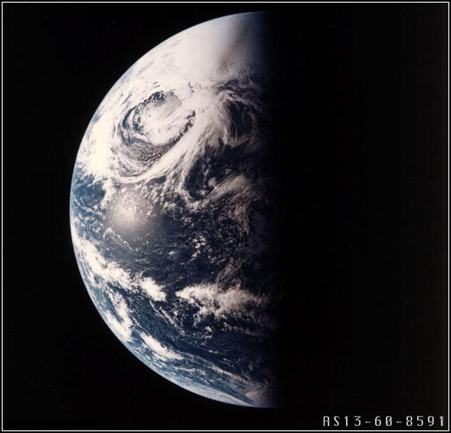 Ziemia widziana z Apollo 13