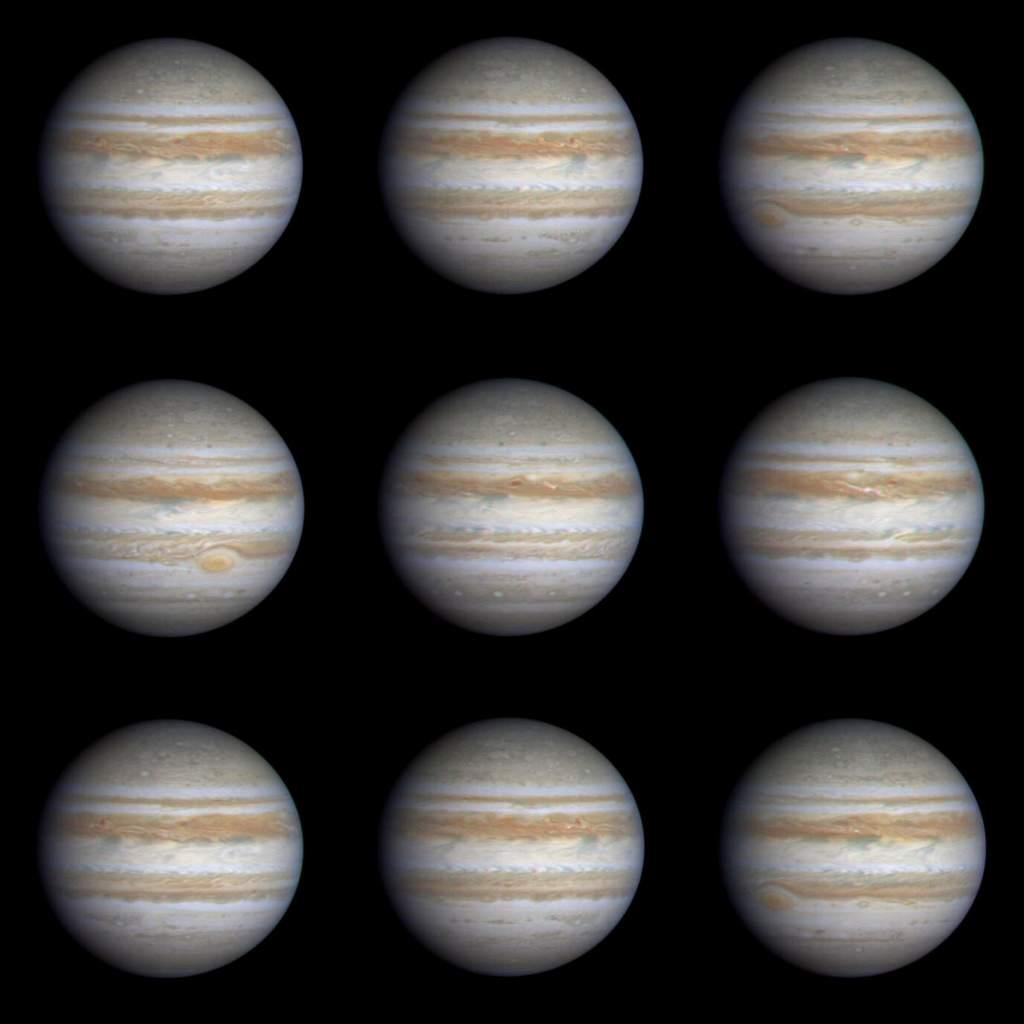 Rotacja Jowisza