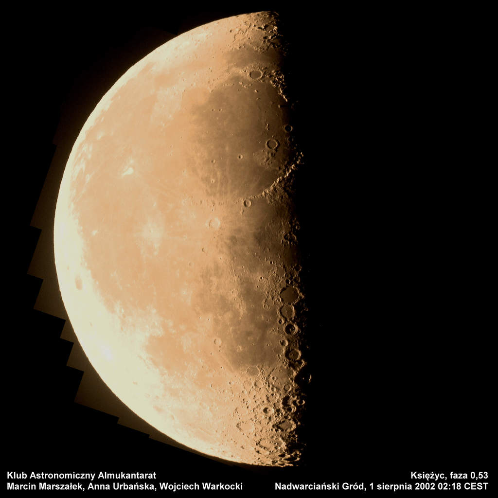 Księżyc, 1 sierpnia 2002 godzina 2:18