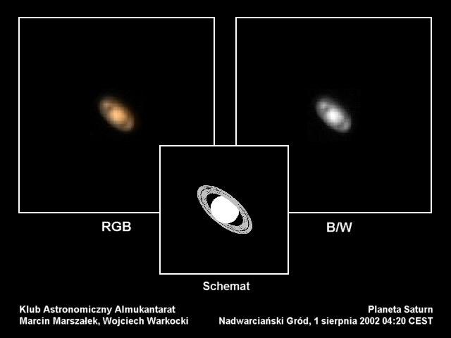 Saturn, 1 sierpnia 2002 godzina 4:20