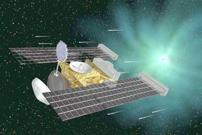 Stardust zbiera gwiezdny pył
