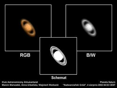 Saturn, 4 sierpnia 2002 godzina 4:02