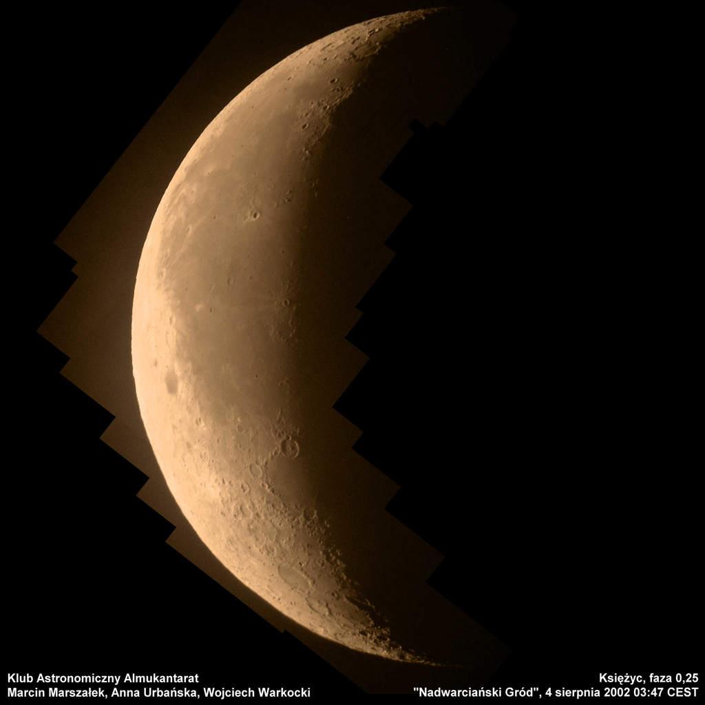 Księżyc, 4 sierpnia 2002 godzina 3:47