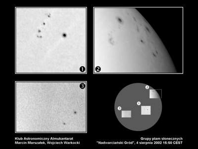 Grupy plam słonecznych, 4 sierpnia 2002 roku godzina 15:50