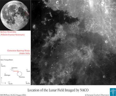 Krater Taruntius - położenie