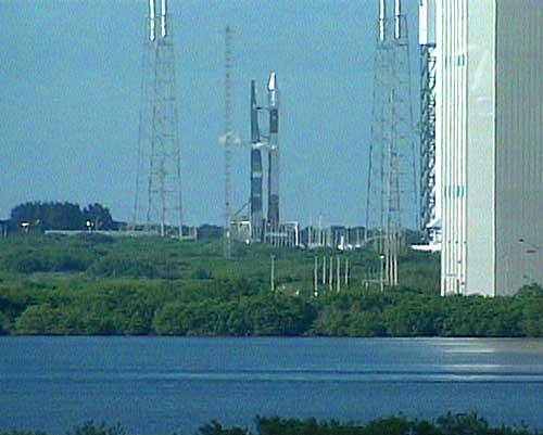 Rakieta Atlas 5 na stanowisku startowym